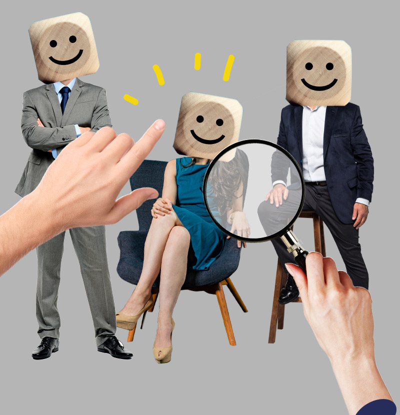 WM-Consult HR-& Strategieberatung: HR-Unternehmensberatung nimmt drei Kandidaten oder Bewerber unter die Lupe